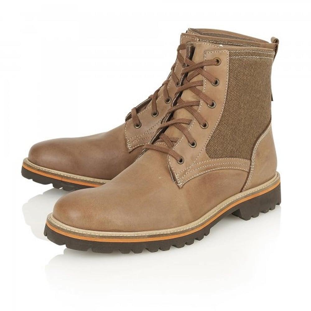 Kinley 8514 Tan Nubuck Boots ...