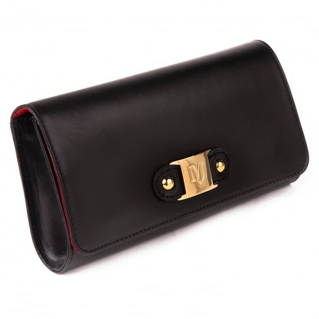 Marta Jonsson Clutch Bag With Mj Detail 8124L Black