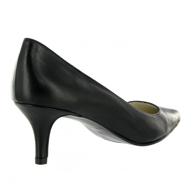 Marta Jonsson Court Shoe 5060L Black Shoes