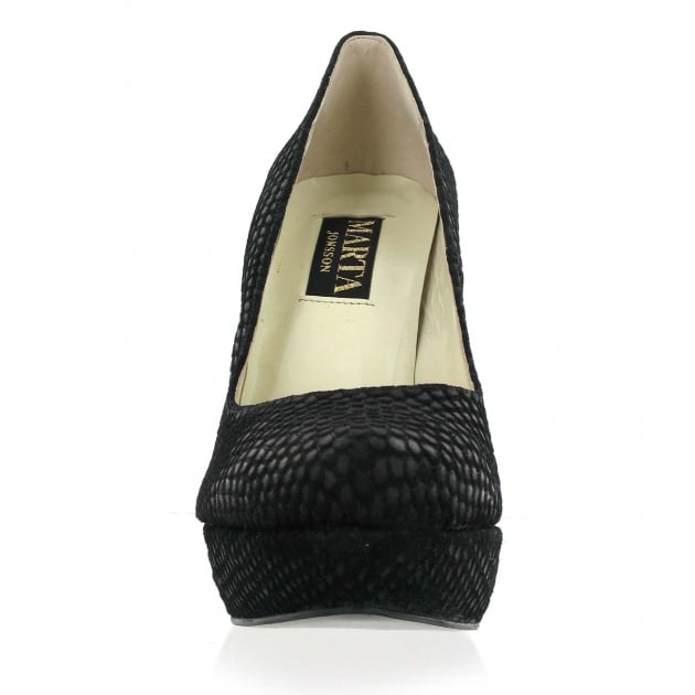 Marta Jonsson Court Shoe 525S Black