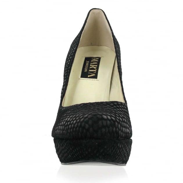 Marta Jonsson Court Shoe 525S Black