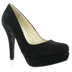 Marta Jonsson Court Shoe 525S Black Shoes