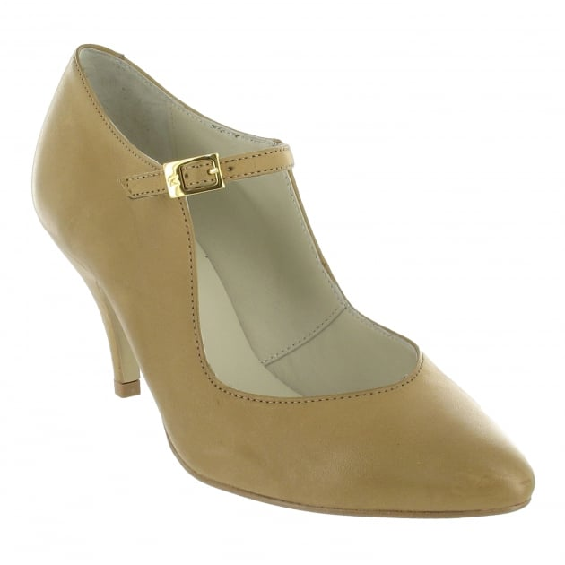 Marta Jonsson Court Shoe With A Strap 1320L Sabia