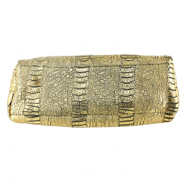 Marta Jonsson Crocodile Grab Bag 8470L Gold