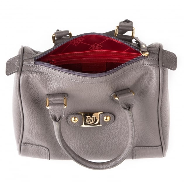 Handbag With Mj Detail 199L Grey