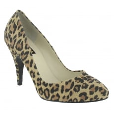 Marta Jonsson High Heeled Court Shoe 8568S Leopard