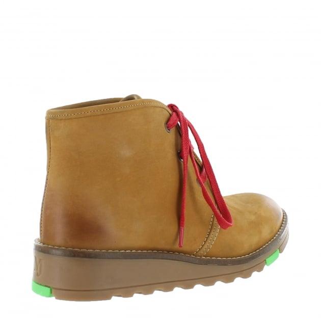 Marta Jonsson Lace Up Northern Light Boots 3871L Tan Boots
