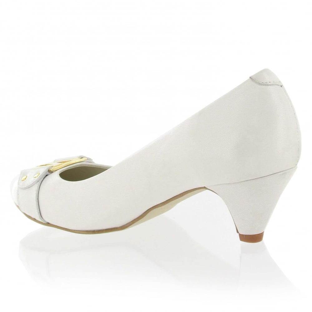marta jonsson leather court shoe 6038l white shoes co uk