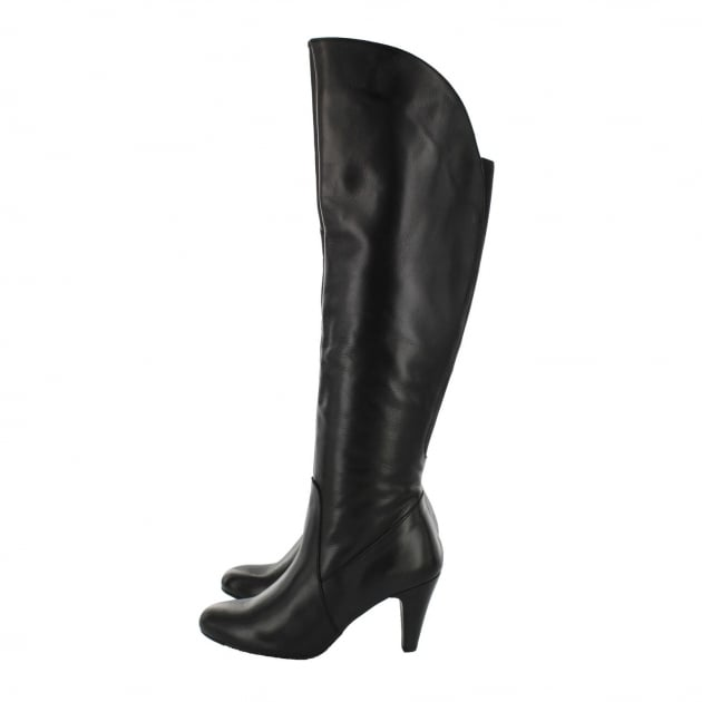Marta Jonsson Leather Knee Boot 1913L Black Boots