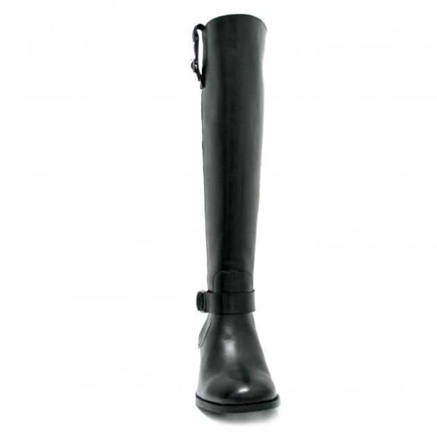Marta Jonsson Leather Knee Boot 6604L Black