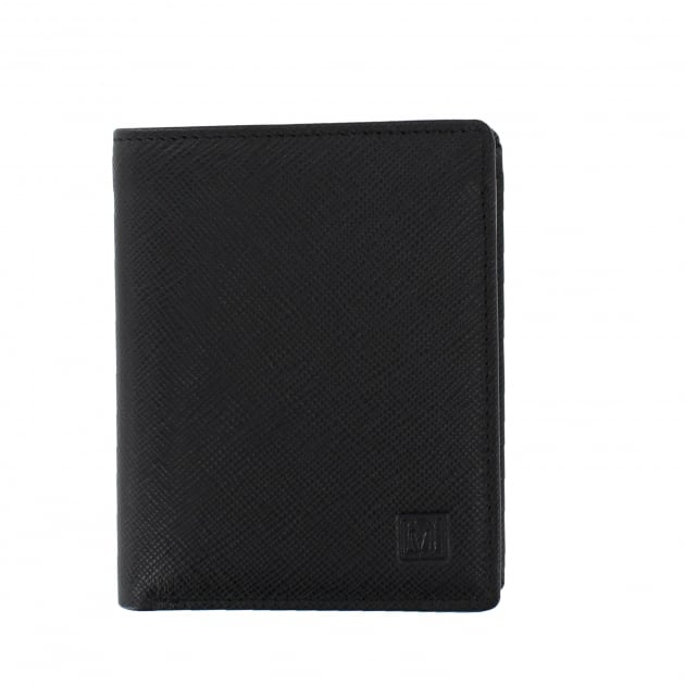 Marta Jonsson Mens Billfold Wallet Black W3440