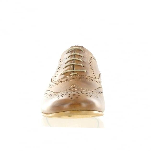 Marta Jonsson Mens Lace Up Classic Brogue J2348L Tan Shoes
