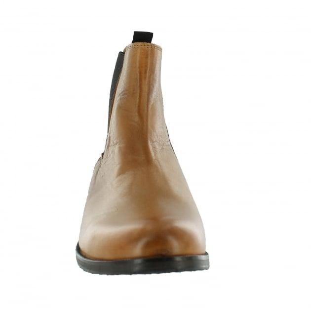 Mens Slip On Ankle Boot J4562L Tan
