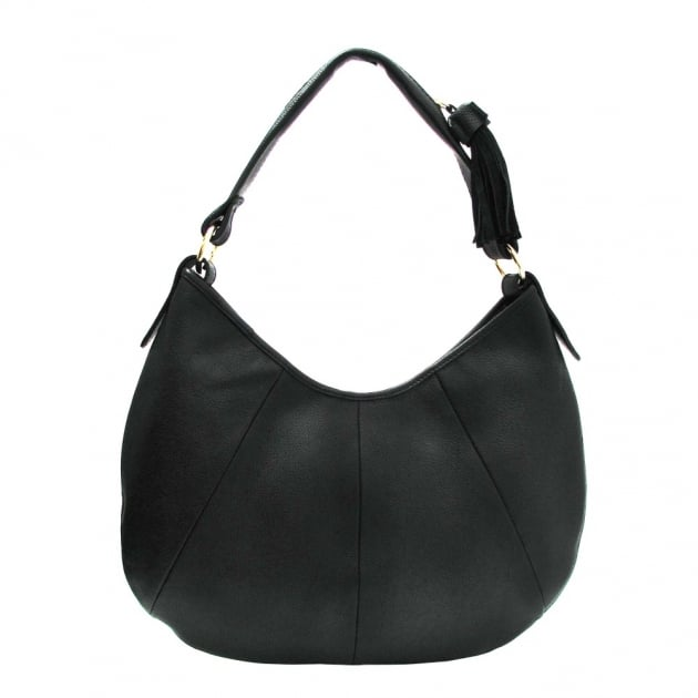 Marta Jonsson Shoulder Bag With Zipper 215L Black