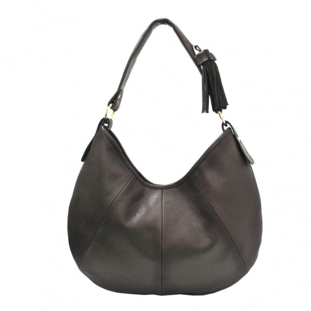 Marta Jonsson Shoulder Bag With Zipper 215L Brown