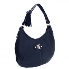 Marta Jonsson Shoulder Bag With Zipper 215L Navy