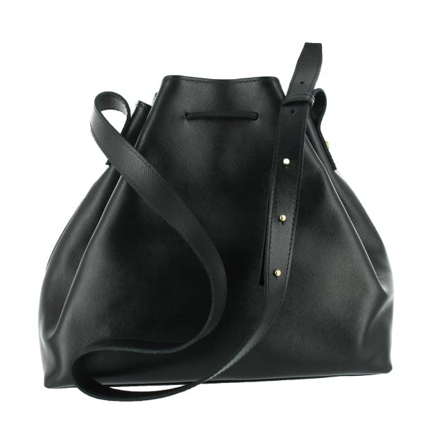Shoulder Pouch Bag 8465L Black