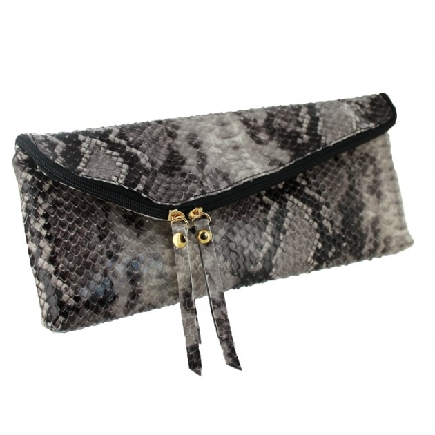 Snakeskin Clutch Bag 8424S Multicolour