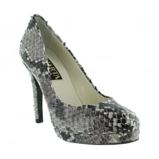 Marta Jonsson Snakeskin Court Shoe 2103S Snakeskin Shoes