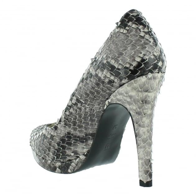 Marta Jonsson Snakeskin Court Shoe 2103S Snakeskin Shoes