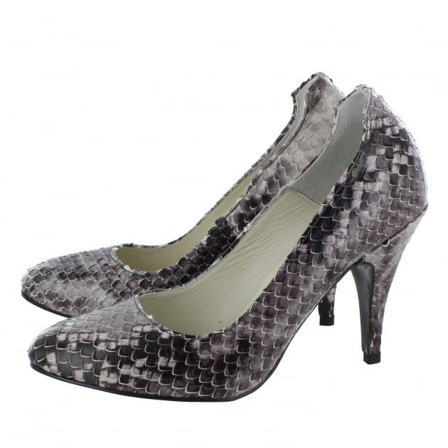 Marta Jonsson Snakeskin Court Shoe 2983S Snakeskin