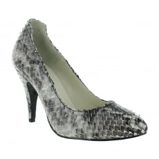 Marta Jonsson Snakeskin Court Shoe 2983S Snakeskin Shoes