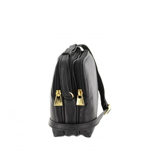 Marta Jonsson Womens Across Body Bag 8520L Black