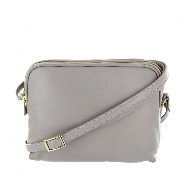 Marta Jonsson Womens Across Body Bag 8520L Grey