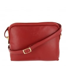 Marta Jonsson Womens Across Body Bag 8520L Red