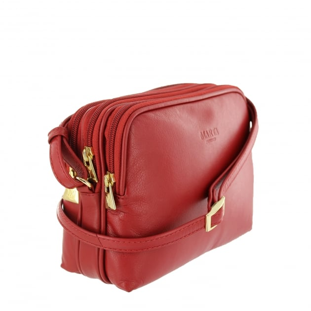 Womens Across Body Bag 8520L Red