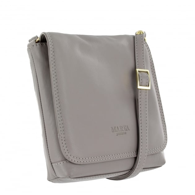 Womens Across Body Bag 8521L Grey