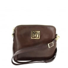 Marta Jonsson Womens Across Body Bag 8524L Brown