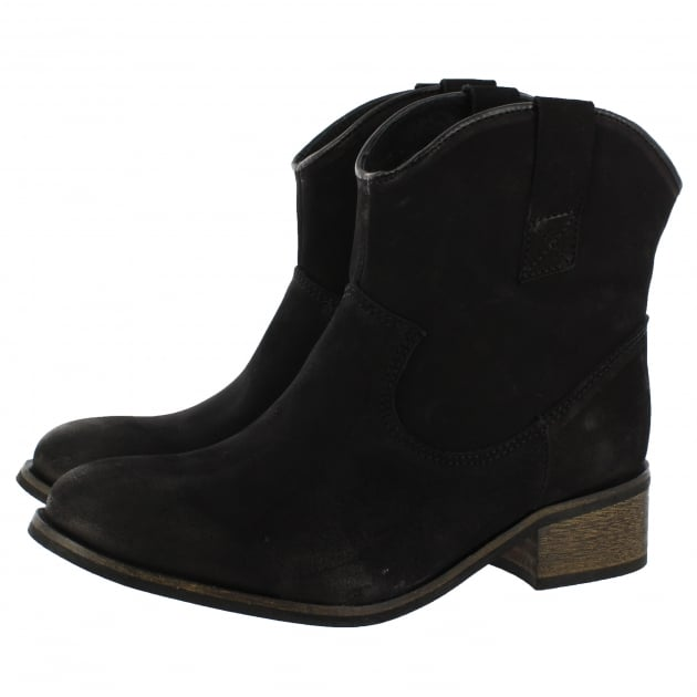 Womens Ankle Boots 00222N Black