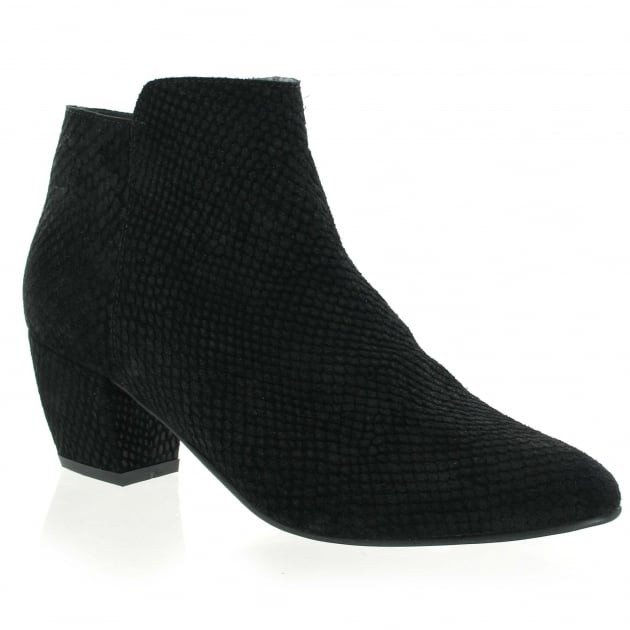 Marta Jonsson Womens Ankle Boots 3444S Black Boots