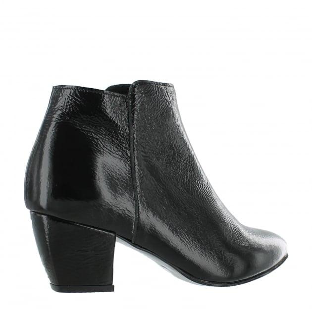 Marta Jonsson Womens Ankle Boots 3445P Black Boots