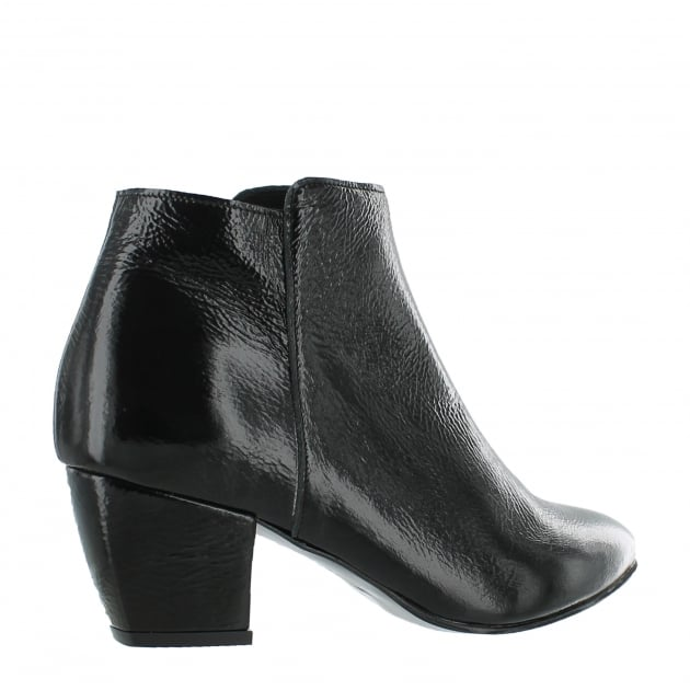 Womens Ankle Boots 3445P Black
