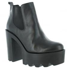 Marta Jonsson Womens Ankle Boots 3510L Black Boots