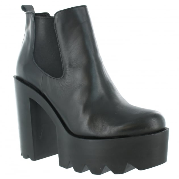 Womens Ankle Boots 3510L Black