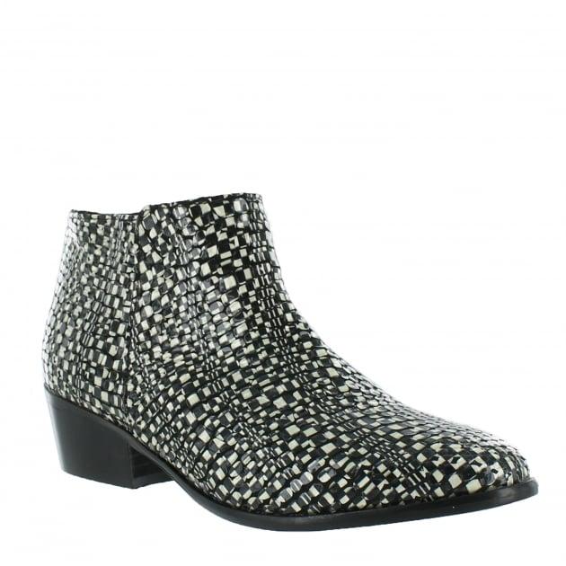 Womens Ankle Boots 4044P Multicolour