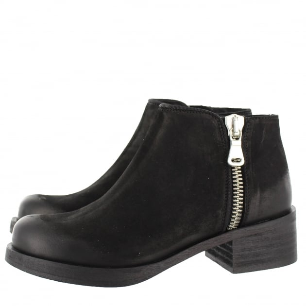 Womens Ankle Boots 4155L Black