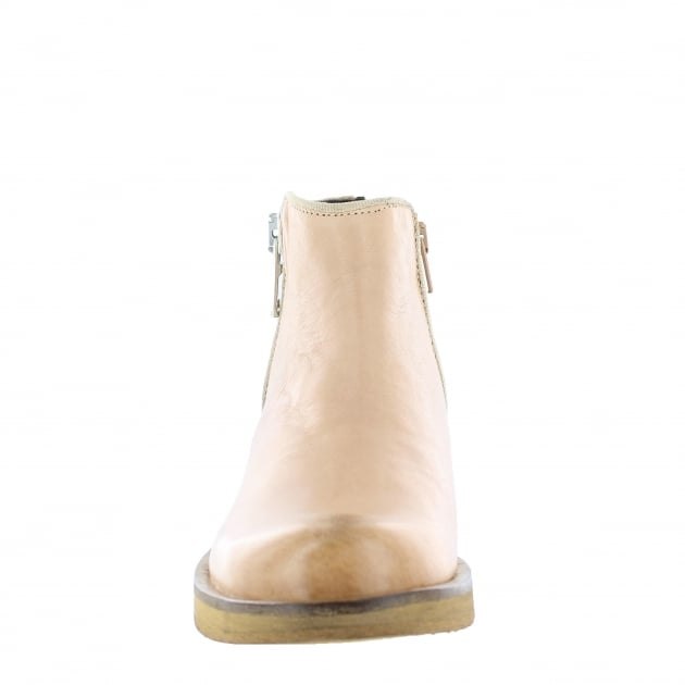 Womens Ankle Boots 4155L Tan