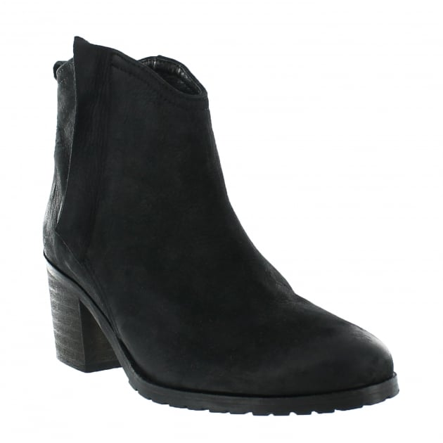 Womens Ankle Boots 4656N Black