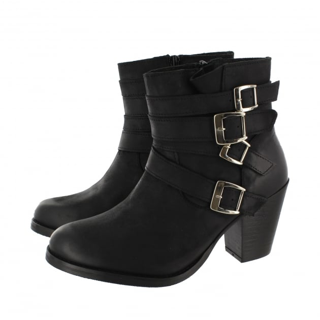 Marta Jonsson Womens Ankle Boots 4664N Black Boots