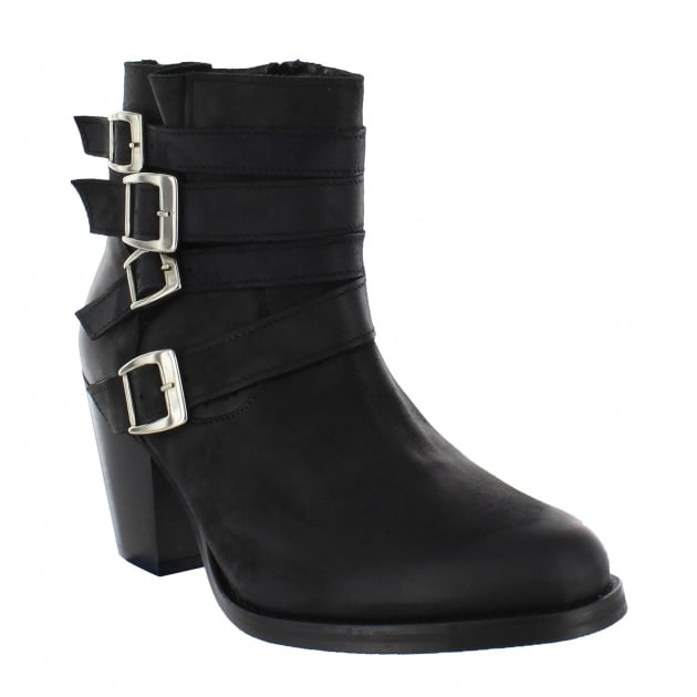 Marta Jonsson Womens Ankle Boots 4664N Black