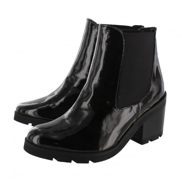 Womens Ankle Boots 4784P Black