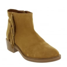 Marta Jonsson Womens Ankle Boots 4885S Tan Boots