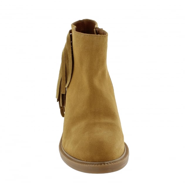 Womens Ankle Boots 4885S Tan