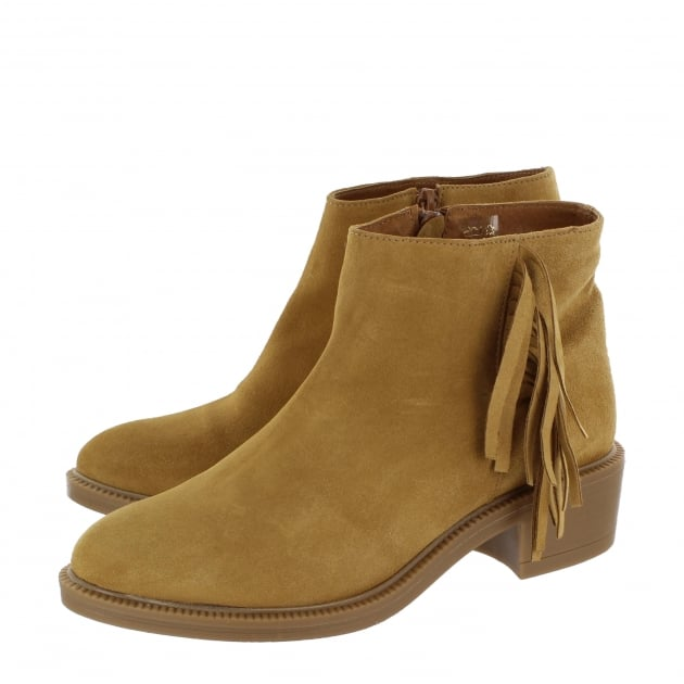 Marta Jonsson Womens Ankle Boots 4885S Tan