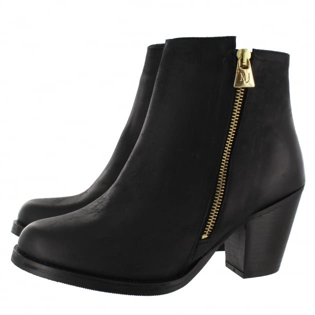 Womens Ankle Boots 4890N Black