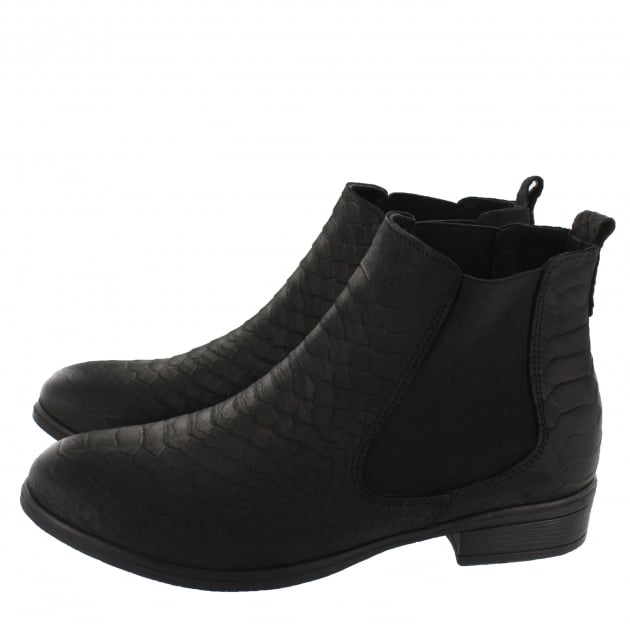 Marta Jonsson Womens Ankle Boots 6524N Black Boots